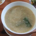 中華料理 真 - スープ