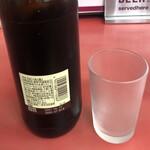北京料理 松鳳 - 瓶ビールはエビスビールの大瓶