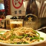満龍  - 青椒肉絲(小盛) ¥850