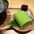 林屋新兵衛 - 鮮やかな緑の抹茶葛ねり