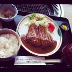 13841126 - ビーフカツレツ定食