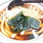 山田うどん - 料理写真:たぬきうどん