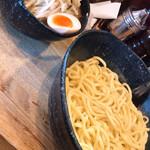 つけ麺道たけし - 料理写真:野菜つけ麺中盛り 玉子トッピング