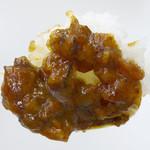 ダブスタ - 香ばしい黒マー油カレー