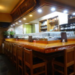 喜久寿司 - 店内