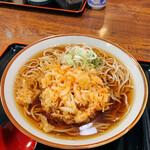 松花 - 料理写真:かき揚げ蕎麦