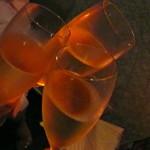 バー セカンド - シャンパンで乾杯♪