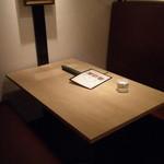 ブルーリリー 青百合飯荘  - 落ち着いたボックス席