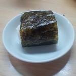 海老洲 - テールラーメン定食(おにぎり)