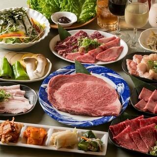 九州産のA5黒毛和牛を飲み放題付で5000円~!