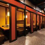 海山亭いっちょう - テーブル席やお座敷の個室をご用意しております