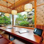 海山亭いっちょう - 掘りごたつ式、お座敷の個室