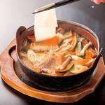 海山亭いっちょう - 上州の郷土料理おっ切り込みうどん
