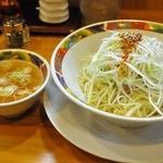 中華そば 鈴木 弥富店 - 辛口油そば 800円  魚介系のスープ付