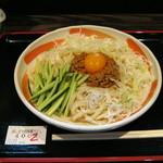 小平うどん - 【夏期限定】冷し肉味噌うどん(ごまだれ)400gです。