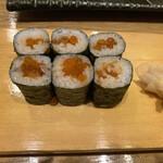 築地寿司岩 - いくら巻き