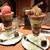 パティスリー カフェ デリーモ  - 料理写真:パーフェクトマロンとラズベリーピスターシュ