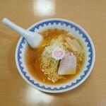 三吉屋 - 中華そば(並)600円
