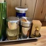 Ginzaoboroduki - 卓上調味料
