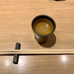 Nakameguroiguchi - 8時間煮込んだ鶏スープ