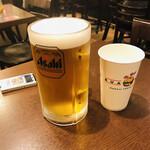 クアアイナ - 生ビールはアサヒスーパードライ