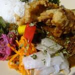 Mikazuki Curry SAMURAI. -