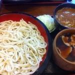 涼太郎 - ダブルつけ汁(肉汁&カレー) 3L