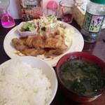 カフェ ミズカ - 生姜焼きランチ