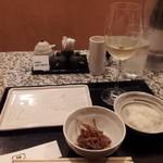 鳥焼 なか村 - 配膳セット(^^)v