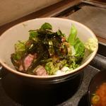 テコ 220℃ - ステーキ丼1.5 800円