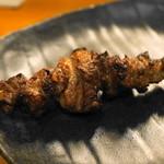 ささよし - 2012.7 タンカシ(1串190円)タンのスジの部分です
