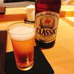 宝すし - ビール