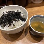 まん天餃子 - ごはんとスープ