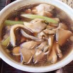 正直庵 - 舞茸タップリの美味しい汁♪