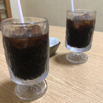 味楽 - セットのコーヒー