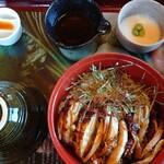 霧島 大地ごはん - 料理写真:霧島鶏まぶしセット