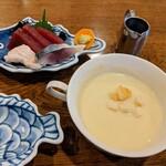 ラ・カザワ - スープとお刺身