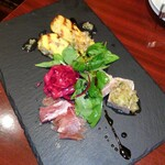 サイトウ洋食店 - 前菜盛り合わせ