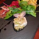サイトウ洋食店 - 前菜盛り合わせ、豚肉テリーヌ