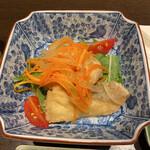 旬魚介×串揚げ Kushi‐Toria M's - お通しの魚南蛮漬け