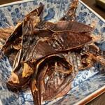 旬魚介×串揚げ Kushi‐Toria M's - 干しホタルイカの炙り
