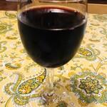 メランツァーネ - グラスワイン   赤