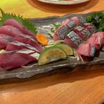 味劇場 ちか - 料理写真:ビリかつお・ビリ清水サバ