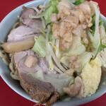 138492377 - ラーメン小(ニンニク、アブラ) ¥750