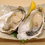 まずい魚 青柳 - 生牡蠣