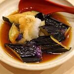 まずい魚 青柳 - 茄子の揚げだし