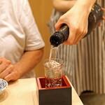 まずい魚 青柳 - 山本 純米吟醸 生原酒