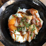 Kemuri - ベーコンエッグ丼