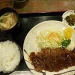 13850361 - トンカツ定食700円