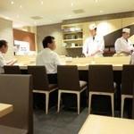 築地 寿司清 - カウンター